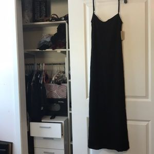 NWT Low Back Slip Dress